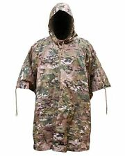 Poncho BTP Camo Waterproof Army Hunting Military Alternative to Multicam