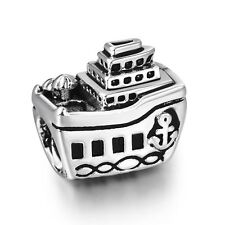 Travelling Cruise ship 925 Sterling Silver New European Charms For Bead Bracelet