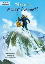 Where Is Mount Everest?-ExLibrary