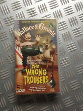 VHS - Wallace & Gromit - The Wrong Trousers