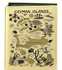 CAYMAN ISLANDS EMBOSSED PHOTO ALBUM 200 PHOTOS/ 4x6