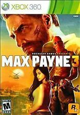 Max Payne 3 Microsoft Xbox 360 Game New Sealed! Rare!