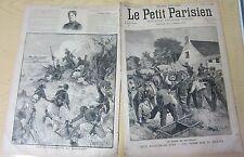 Le petit parisien 1892 185 Le drame de Wattrelos + dahomey