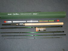 John Wilson Rovex 11' Avon quiver 5pc Travel fishing rod + Codura Tube