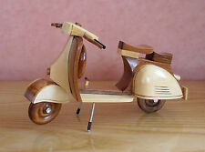 Scooter model, Wooden Handmade Scooter Model, Mod GS PX LI SX GP scooter model