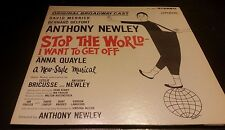 Stop The World-I Want To Get Off - A New Musical - Vinyl Record LP - Stereo
