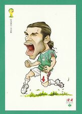 FOOTBALL - DUHZE POSTCARD OF CHINA - FOOTBALL WORLD CUP 2014  -  RAFAEL  MARQUEZ