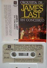 JAMES LAST En concierto RARE SPANISH   CASSETTE DIFFICULT spain PAPER LABEL