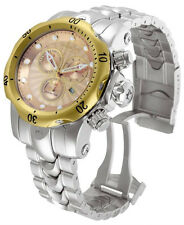 Swiss Made Invicta 10802 Reserve Venom Chronograph Rose-Gold Dial Mens Watch