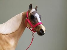 Traditional Scale Hot Pink Model Horse Halter For Breyer