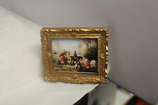 DOLLS HOUSE PICTURE ( Hunting Scene