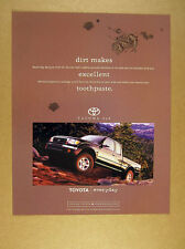 1997 Toyota Tacoma 4x4 Pickup truck photo print Ad