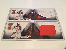 Panini Preferred Booklet 2013-14 Carmelo Anthony Patch Lot (2)
