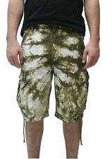 PRPS Goods Men's Tie Dye Wash Cargo Shorts  Save $125!! Save 50%!!   Size 36