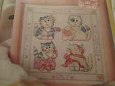 'Pretty Kitten Gift Set' Cross stitch chart (only)