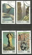 Südafrika - Felsformationen 1986 gestempelt Mi. 697-700