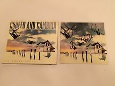 PERSONALLY SIGNED/AUTOGRAPHED COHEED AND CAMBRIA - THE COLOR BEFORE THE SUN CD