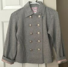 American Girl Beforever Girls Silver Sparkle Jacket Caroline Size 10