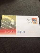 1999 Olympic Torch Australian FDC