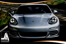 LED Facelift Style Upgrade for Porsche Panamera Headlights Led Halo Rings