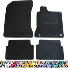 Renault Laguna MK III 2008+ Fully Tailored 4 Piece Car Mat Set with 2 Clips