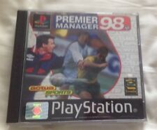 Premier Manager 98 for the Playstation 1