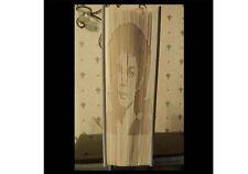 Michael Jackson Libro Arte Plegable Patrón sombra cortar y doblar método #1148