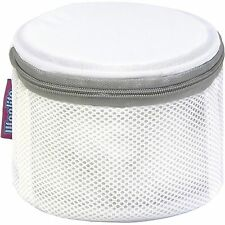 "Woolite Bra Wash Bag Mesh Laundry Sanitized Antimicrobial 6.25"" W x 4"" H"