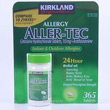 ALLER-TEC Allergy Relief 10mg Cetirizine HCI Antihistamine 365 Tablets