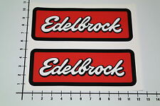 Edelbrock 2 unidades Pegatina Sticker JDM Old School v8 tuning auto decal nos-0039