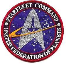 Star Trek Starfleet Command Cartoon Embroidery Iron on Patches