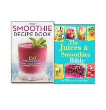 The Juice and Smoothies Bible and The Smoothies Recipes 2 Books Collection Set