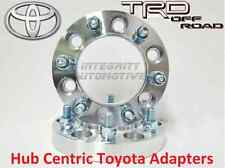"2 Pc Toyota 1.5"" Thick Hub Centric Wheel Spacers - Tacoma Tundra 4 Runner"