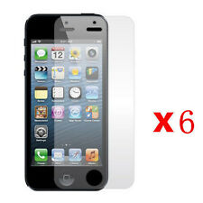 6 Pcs Anti-Glare Matte Front Screen Protector Guard For Apple iPhone 5 5S 5C