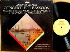MUSICMASTERS Vivaldi ROBERT THOMPSON Concerti for Bassoon LEDGER MM-20018 NM-