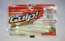 "Berkley Gulp 4"" Pearl Silver Minnow Soft Plastic Fishing Bait Fresh/Saltwater"