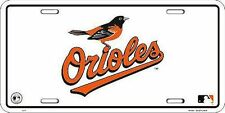 Baltimore Orioles MLB License Plate New