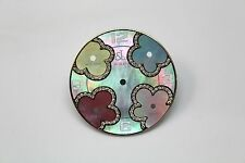 JACOB & CO 40MM GREEN MOTHER OF PEARL W. PASTEL ACCENTS 5 TIME ZONE DIAL JCMATH9