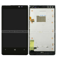 New Black Nokia Lumia 920 LCD Display Touch Screen Digitizer Assembly+Frame