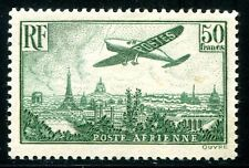 FRANKREICH 1936 311b * DUNKELGRÜN PA 14b 1400€(Z1228