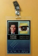 Spiderman ID Badge-Oscorp Industries Norman Osborn cosplay prop costume
