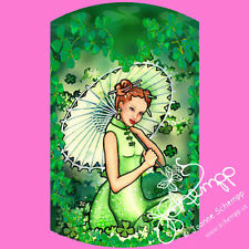 NAIL ART DECAL STICKERS WATER SLIDE St. Patrick's irish shamrock Kaliegh Schempp