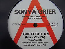 SONYA GRIER Love Flight 109 (Motor City Mix) RCA 1987 PROMO DANCE/CLUB CLASSIC