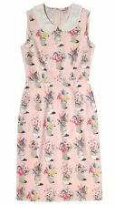 AUTHENTIC CATH KIDSTON PINK FLOWER POTS COTTON VINTAGE STYLE DRESS - 14 - BNWT!