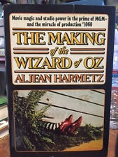 MAKING OF WIZARD OF OZ 1st signed by Harmetz, Jack Halley, 3 munchkins