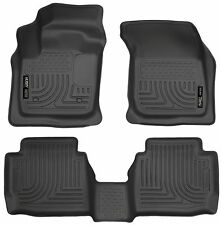 Husky WeatherBeater Floor Mat Liners Black 2013-2016 Ford Fusion/Lincoln MKZ