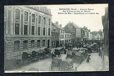 C1912 View of Ypres Street on a Market Day, Bailleul (Nord), France