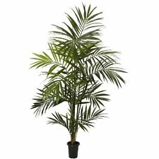 Nearly Natural 5335 Kentia Palm Silk Tree- 7-Feet- Green NEW