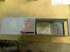 GE ADS36060HS 60 AMP 600 VOLT 3 POLE  FUSIBLE PANELBOARD SWITCH for parts