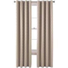 """Studio  Luna Grommet-Top Lined Blackout Curtain Panel 50""""X108"""" Rock  A63"""